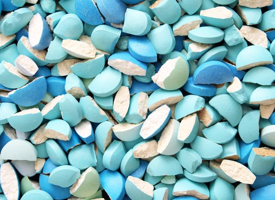 Odzyskanie materiału, tabletek i kapsułek
