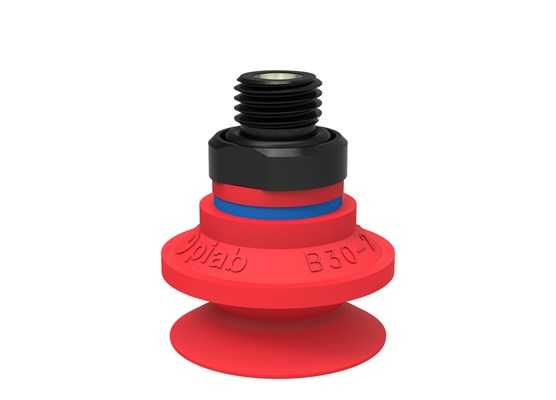 "Suction cup B30-2 Silicone, G1/4"" male, with mesh filter"