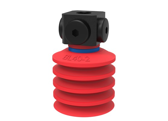 "Suction cup BL40-2 Silicone, 5x1/8"" NPSF female"