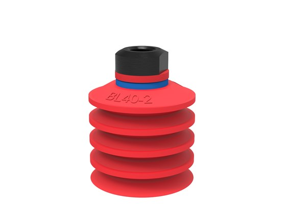 "Suction cup BL40-2 Silicone, 1/8"" NPSF female, with mesh filter"