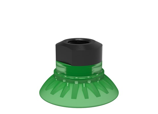 "Suction cup FC35P Polyurethane 60, 1/8"" NPSF female, with mesh filter"