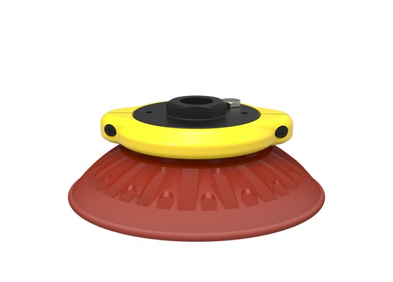 "Suction cup FC150P Polyurethane 40, G1/2"" female, with mesh filter"