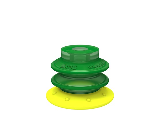 Suction cup BX35P, Polyurethane 30/60