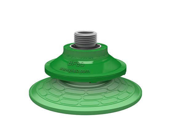 "Suction cup BF80P Polyurethane 60, G3/8"" male with mesh filter"