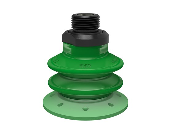 "Suction cup BX52P Polyurethane 60 with filter, G3/8"" male, with mesh filter"
