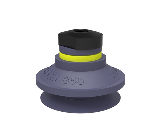 "Suction cup B50 HNBR, 1/8"" NPSF female, with mesh filter"