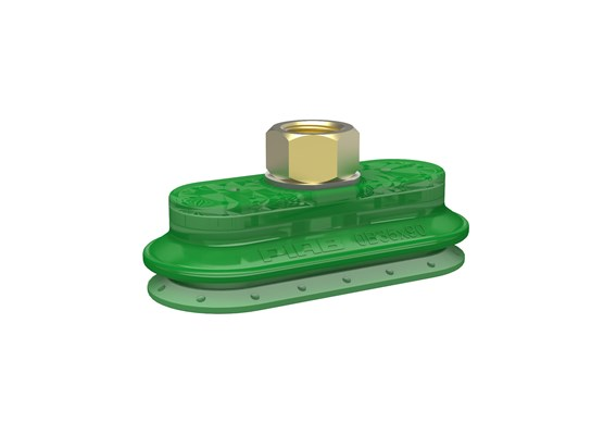 "Suction cup OB35x90P Polyurethane 60, 3/8"" NPSF female"