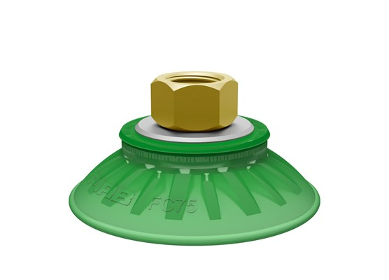 "Suction cup FC75P Polyurethane 60, 3/8"" NPSF female"