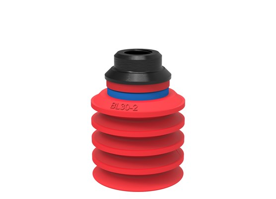 "Suction cup BL30-2 Silicone, 1/8"" NPSF female, PA"
