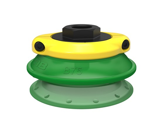 "Suction cup B75P Polyurethane 60, G3/8"" female, with mesh filter"