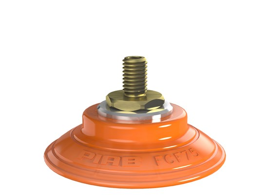 Suction cup FCF75P Polyurethane 55/60, M10x1.5 male