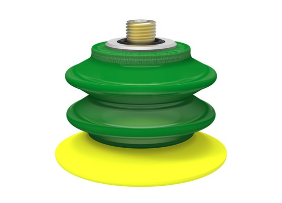"Suction cup BX75P Polyurethane 30/60 with filter, thread insert G1/4"" male"