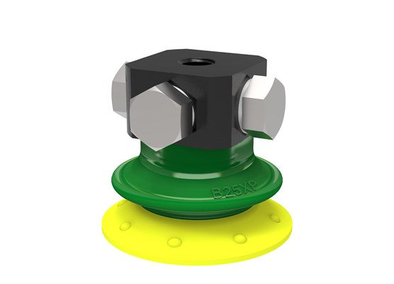 Suction cup B25XP Polyurethane 30/60, 5xM5 female