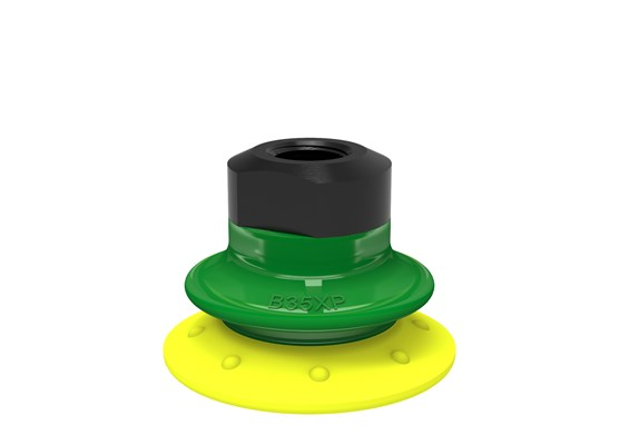 "Suction cup B35XP Polyurethane 30/60, 1/8"" NPSF female, with mesh filter"