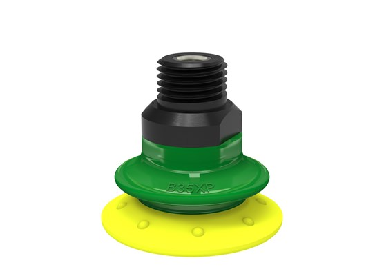 "Suction cup B35XP Polyurethane 30/60, 1/4"" NPT male with mesh filter"