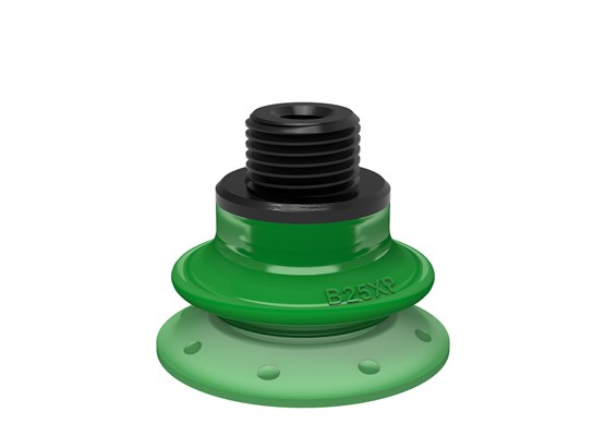 "Suction cup B25XP Polyurethane 60, G1/8"" male / M5 female with mesh filter"