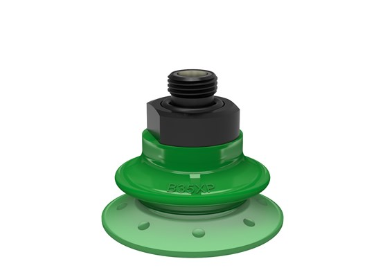 "Suction cup B35XP Polyurethane 60, G1/8""  male with mesh filter"