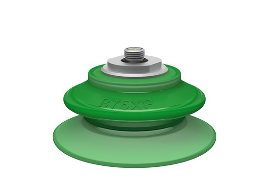 "Suction cup B75XP Polyurethane 60 thread insert G1/8"" male"