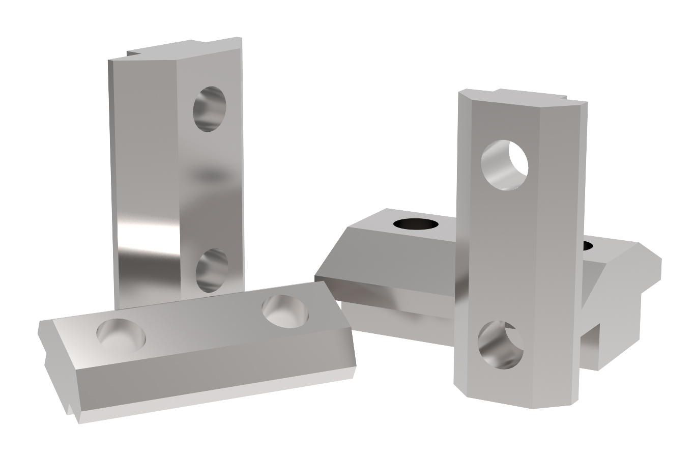 T-slot nut kit for mounting bracket