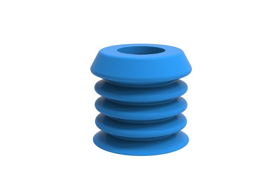 Suction cup B-BL30-2 Silicone, detectable, FCM
