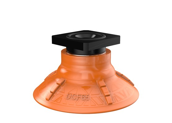 Suction cup DCF65P Polyurethane 60, T-slot, with mesh filter