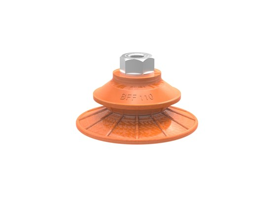 "Suction cup BFF110TP Polyurethane 55/60/30 G1/4"" female with mesh filter"