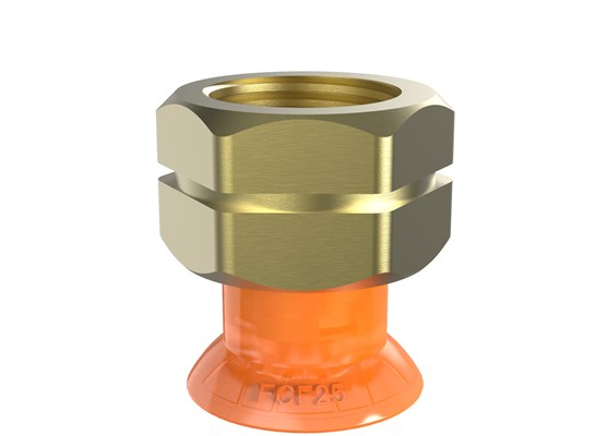 "Suction cup FCF25P Polyurethane 55/60, 3/8"" NPT female"