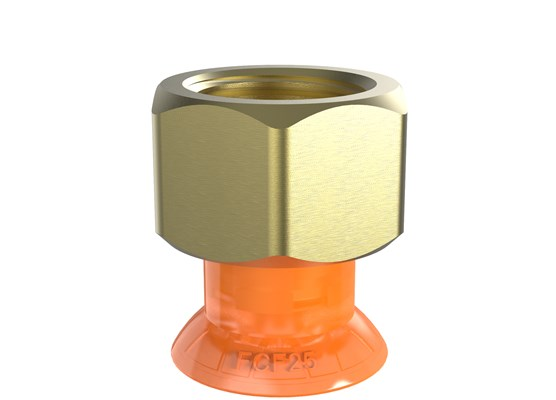 "Suction cup FCF25P Polyurethane 55/60, G1/4"" female"