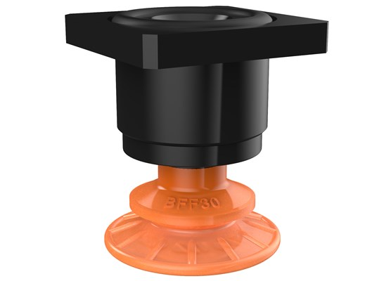 Suction cup BFF30P Polyurethane 55/60, T-slot