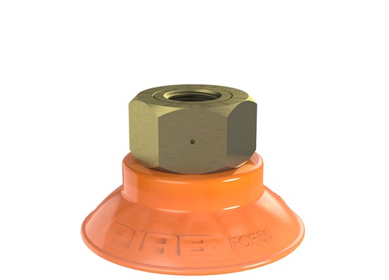 "Suction cup FCF50P Polyurethane 55/60, G1/4"" female"