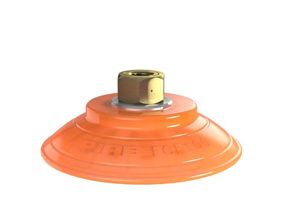 "Suction cup FCF100P Polyurethane 55/60, G1/4"" female"