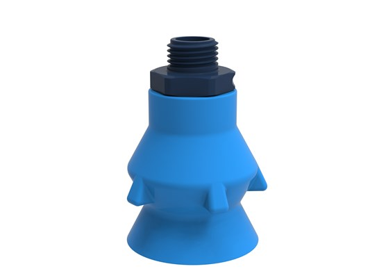 "Suction cup P-D36 Silicone G1/4"" male composite, detectable, FCM"