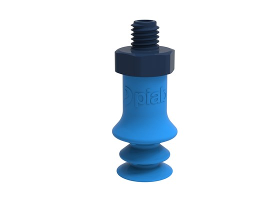 Suction cup F-BX10 Silicone M5 male composite, detectable, FCM