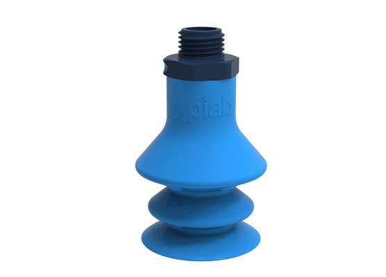 "Suction cup F-BX35 Silicone G1/4"" male composite, detectable, FCM"
