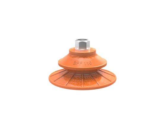 "Suction cup BFF110P Polyurethane 55/60 G3/8"" female with mesh filter"