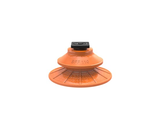 Suction cup BFF110P Polyurethane 55/60 T-slot with mesh filter