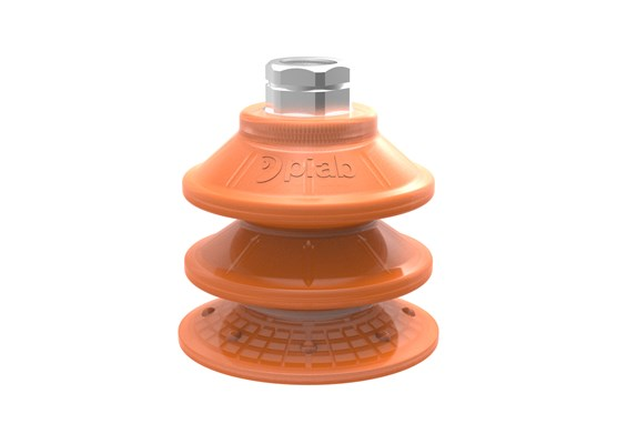 "Suction cup BXF75P Polyurethane 60, 3/8"" NPT female with mesh filter"