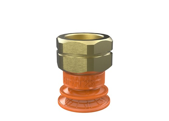 "Suction cup BFFT23P Polyurethane 60/60/30, 3/8"" NPT female"