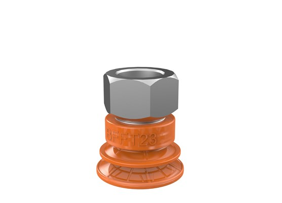 "Suction cup BFFT23P Polyurethane 60/60/30, G1/4"" female"