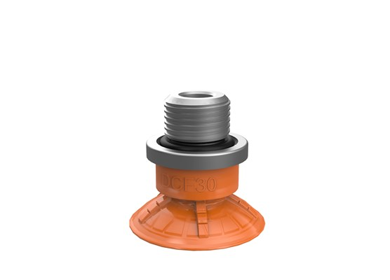 "Suction cup DCF30P Polyurethane 60, G1/4"" male"