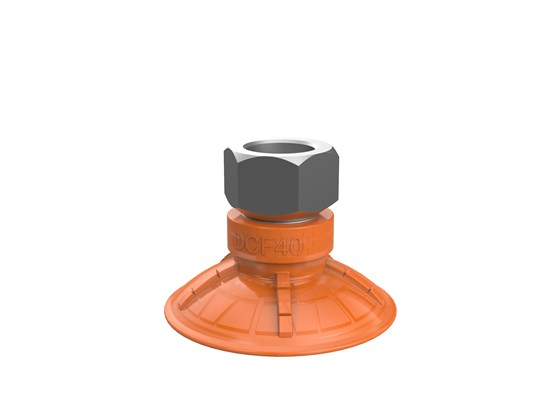 "Suction cup DCF40P Polyurethane 60, G1/4"" female"