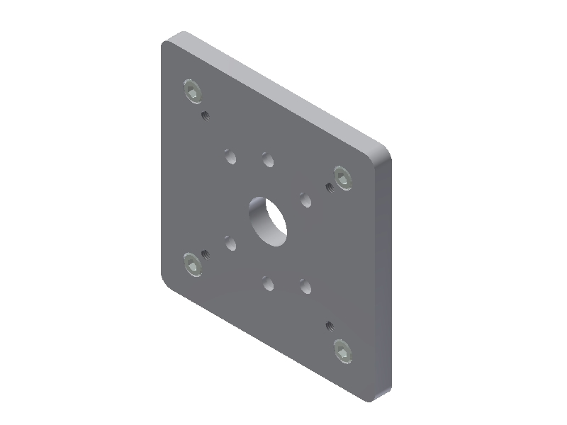 QMP Mounting plates for QST