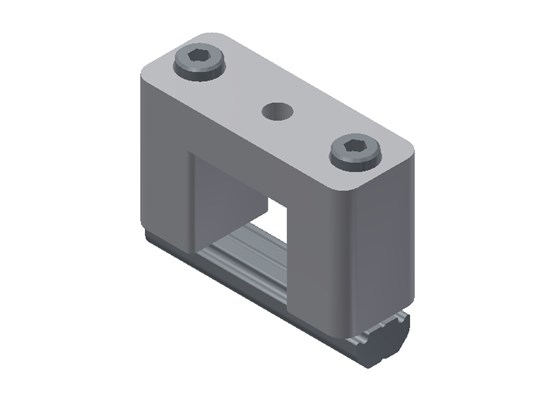 KBV 18-18 L Cross Joint Connector