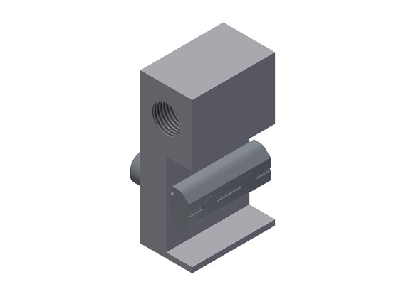 WSS 1/4 X Angle Connector