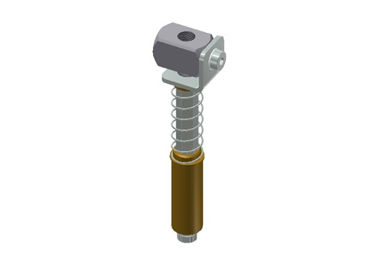 GGS 20-C-50 Spring Loaded Non-Rotational Gripper Arm