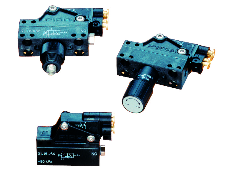 Vacuum switches, pneumatic