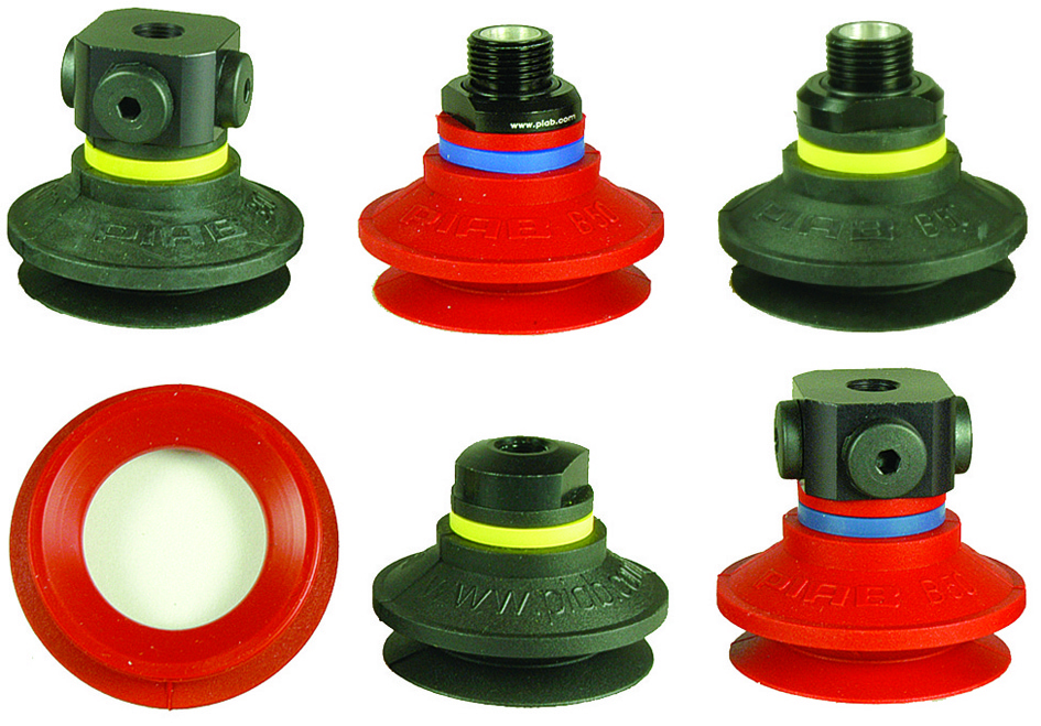Bellows suction cups