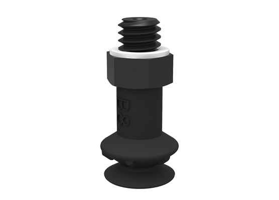 Suction cup B8 Conductive silicone, M5 male
