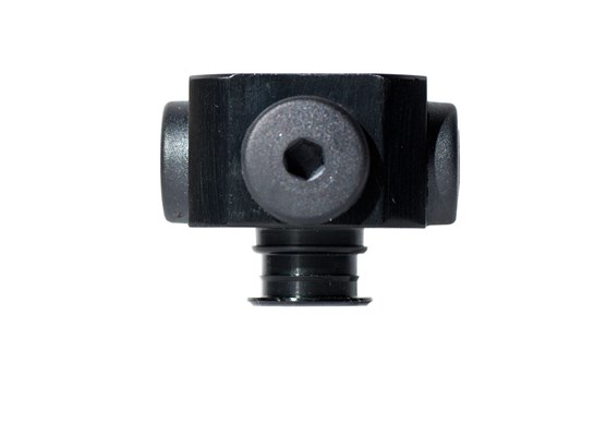 "Fitting 5x1/8"" NPSF female, 50, with dual flow control valve"