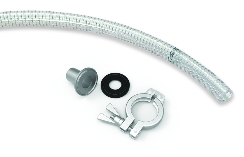 Suction line connection parts